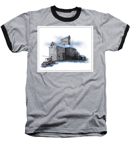 The Ross Elevator Winter Baseball T-Shirt