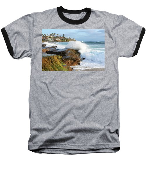 The Sea Was Angry That Day My Friends Baseball T-Shirt