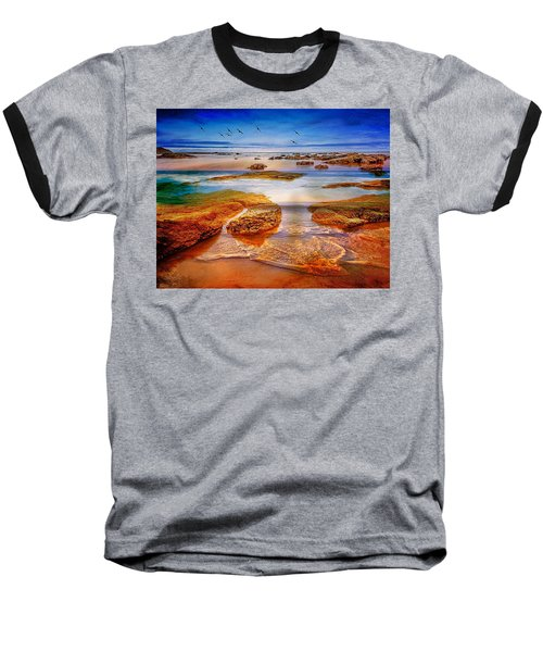 The Silent Morning Tide Baseball T-Shirt