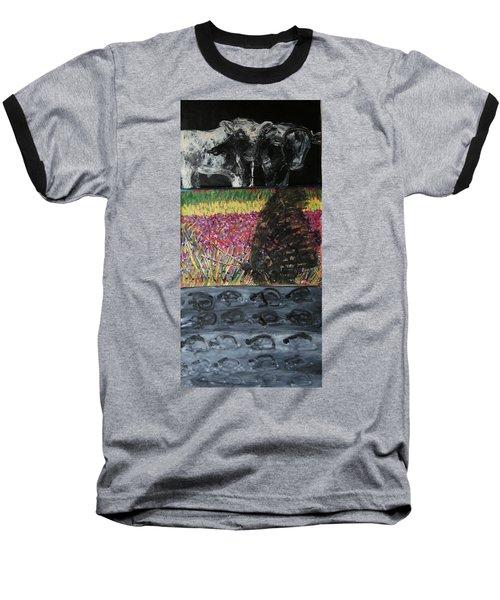The Trickle Down Effect Baseball T-Shirt
