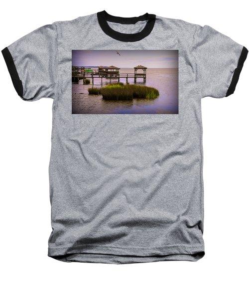 The Waterfront At Duck  Baseball T-Shirt