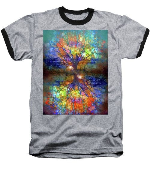 There Is Light Even In These Dark Roots Baseball T-Shirt