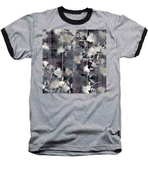 Thistle Plaid  Baseball T-Shirt