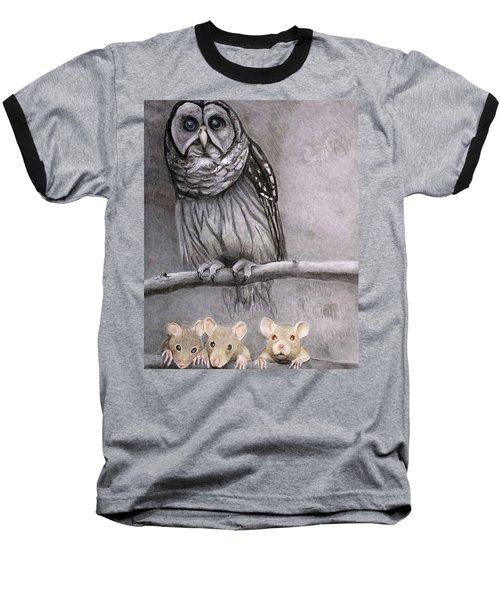Three Blind Mice Baseball T-Shirt