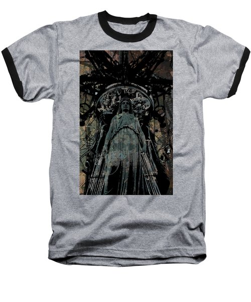 Three Caryatids Baseball T-Shirt