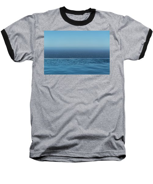 Three Layers Of Blue Baseball T-Shirt