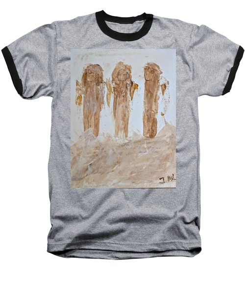 Three Little Muddy Angels Baseball T-Shirt