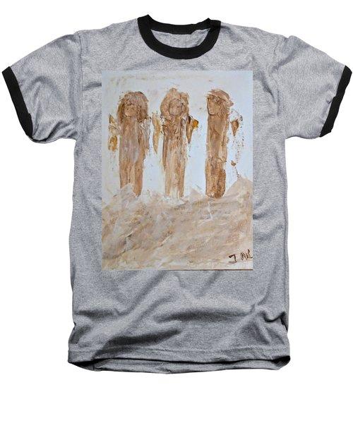 Three Little Muddy Angels Baseball T-Shirt