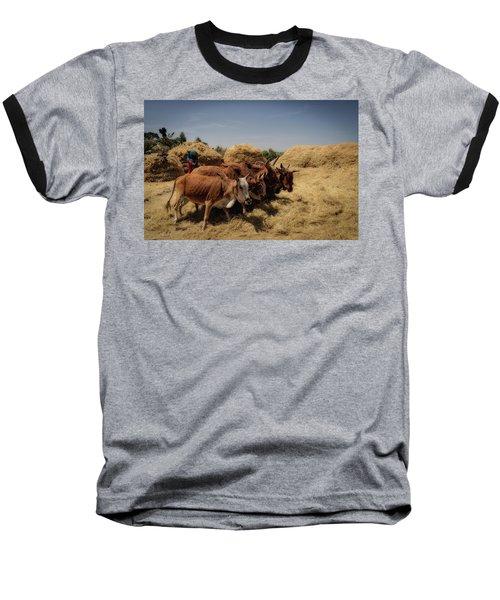Threshing Baseball T-Shirt