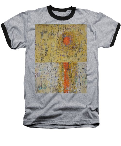 Tidepool Reflection Original Painting Sold Baseball T-Shirt