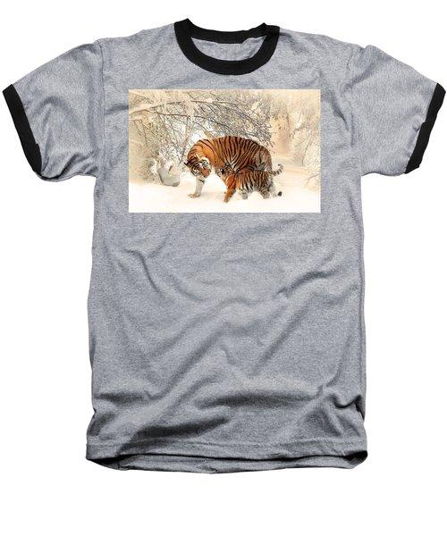 Tiger Family Baseball T-Shirt