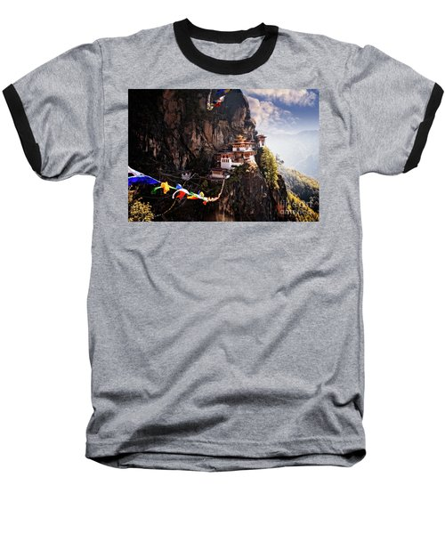 Tigers Nest 2 Baseball T-Shirt