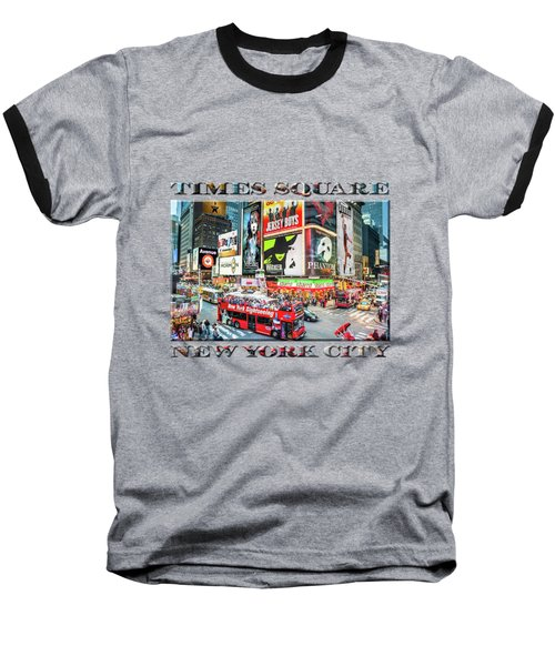 Times Square II Special Edition Baseball T-Shirt