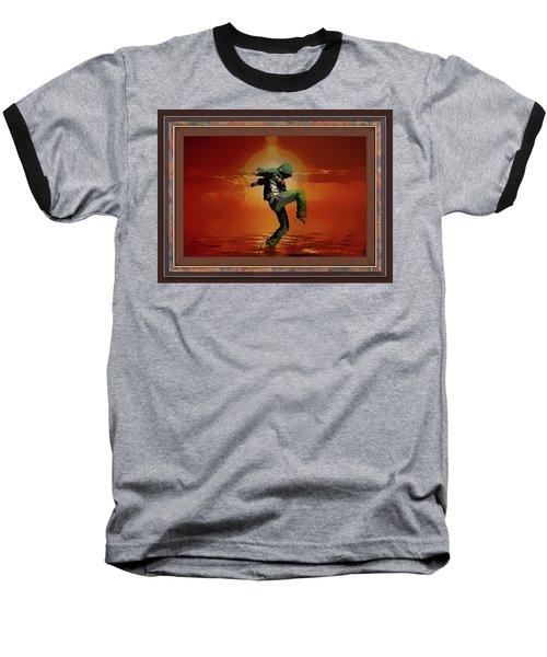 Tip Toe Dancer Baseball T-Shirt