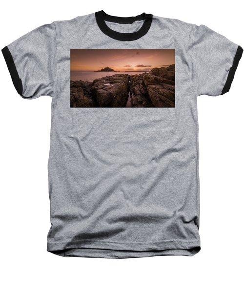To The Sunset - Marazion Cornwall Baseball T-Shirt