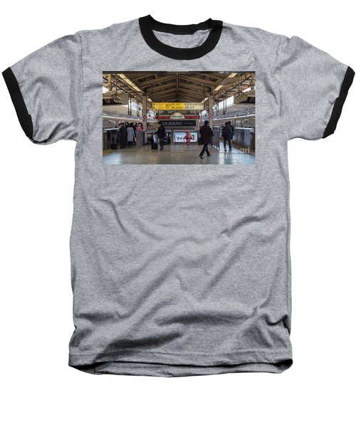 Baseball T-Shirt featuring the photograph Tokyo To Kyoto Bullet Train, Japan 2 by Perry Rodriguez