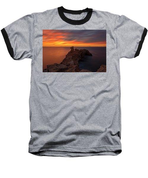 Total Calm At A Sunrise In Ibiza Baseball T-Shirt