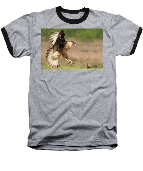 Touching Down Baseball T-Shirt