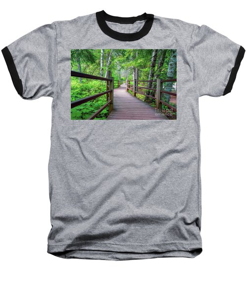 Trail At Gooseberry Falls Baseball T-Shirt