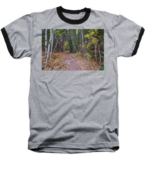 Baseball T-Shirt featuring the photograph Trailhead by James BO Insogna