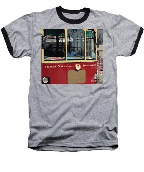 Tram Naples Baseball T-Shirt
