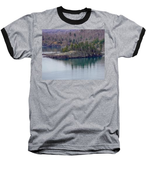 Tranquility In Silver Bay Baseball T-Shirt