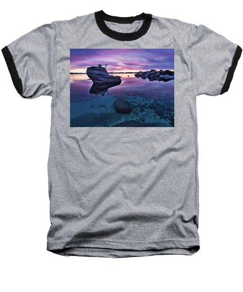 Transparent Sunset Baseball T-Shirt