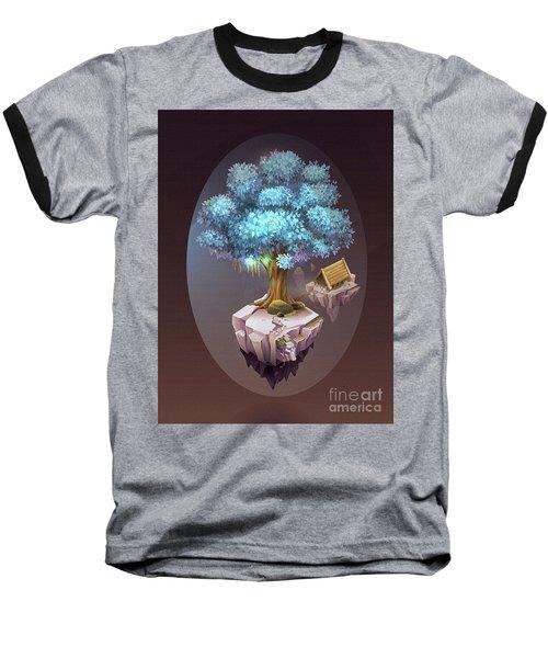 Tree House On Rock Art 54 Baseball T-Shirt