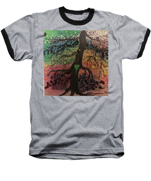 Tree Of Life Chakra Tree Baseball T-Shirt