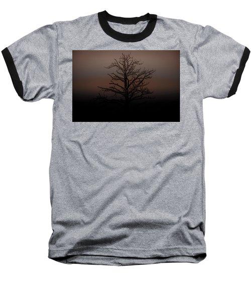 Tree Silhouette  Baseball T-Shirt