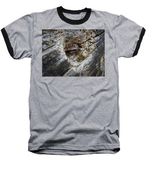 Tree Wood Baseball T-Shirt