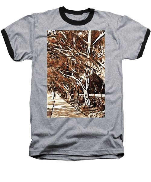 Treelined Baseball T-Shirt