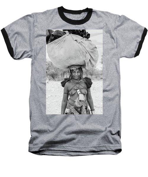 Tribes Portrait Baseball T-Shirt