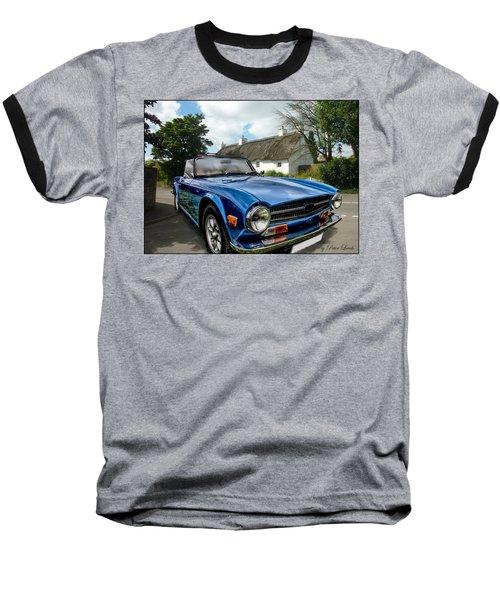 Triumph Tr6 Baseball T-Shirt