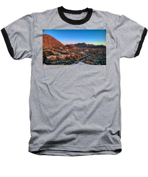 Troon Village Baseball T-Shirt