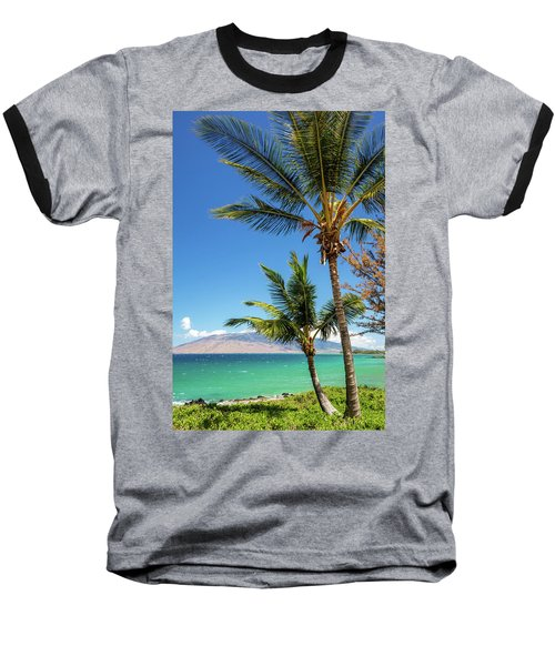 Tropical Aloha Baseball T-Shirt