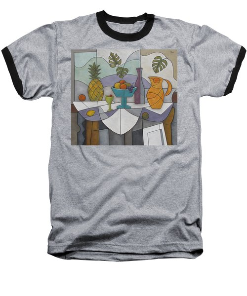 Tropical Delights Baseball T-Shirt