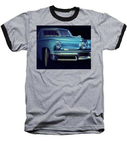 Tucker In Blue Baseball T-Shirt