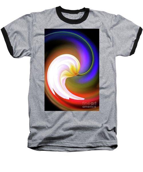 Tulip Twirl Baseball T-Shirt