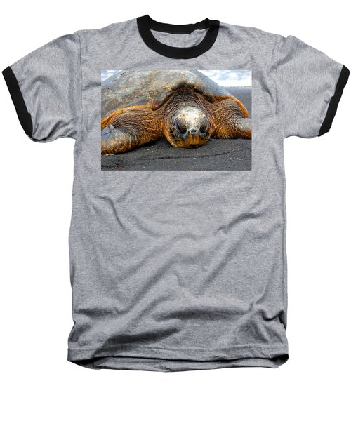 Turtle Rest Stop Baseball T-Shirt