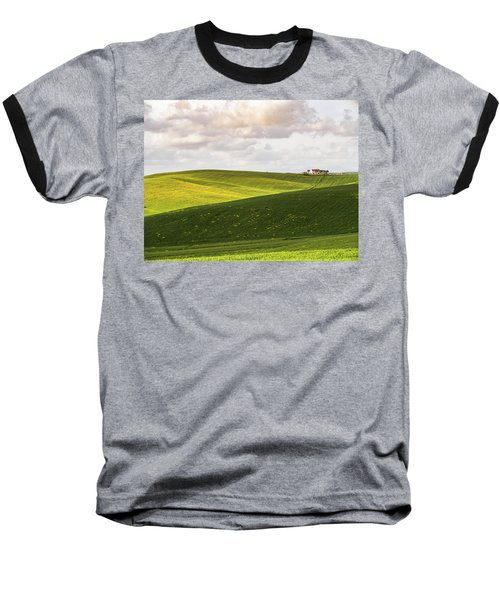 Tuscan Landscapes. Hills In The Spring Baseball T-Shirt