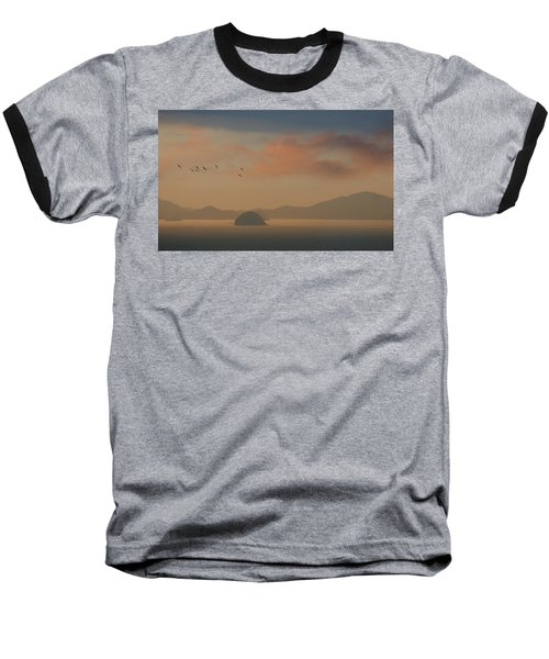 Twilight Calm Baseball T-Shirt