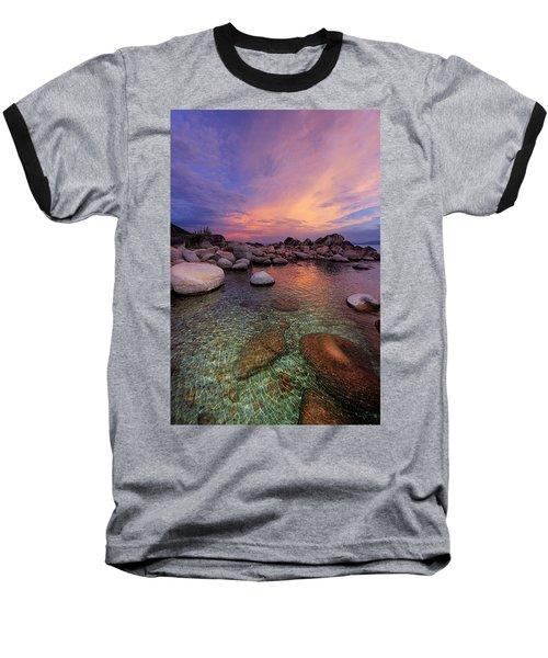 Twilight Canvas  Baseball T-Shirt