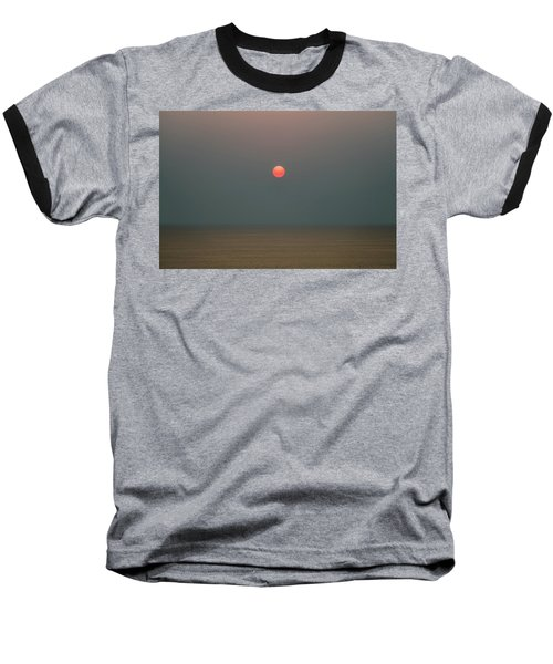 Twilight Sunset At Sea Baseball T-Shirt