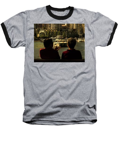 Two Friends At The Vancouver Bay Baseball T-Shirt