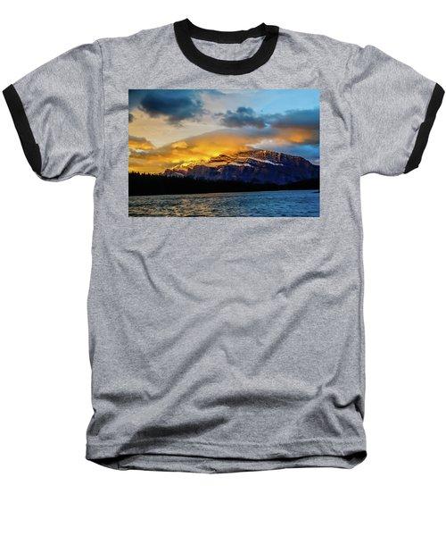 Two Jack Lake, Banff National Park, Alberta, Canada Baseball T-Shirt