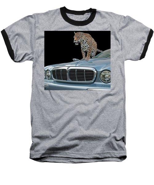 Two Jaguars 1 Baseball T-Shirt