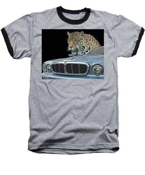 Two Jaguars 2 Baseball T-Shirt