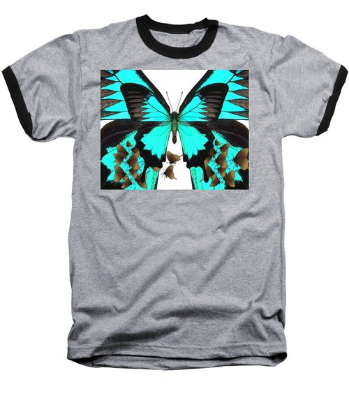 U Is For Ulysses Butterfly Baseball T-Shirt