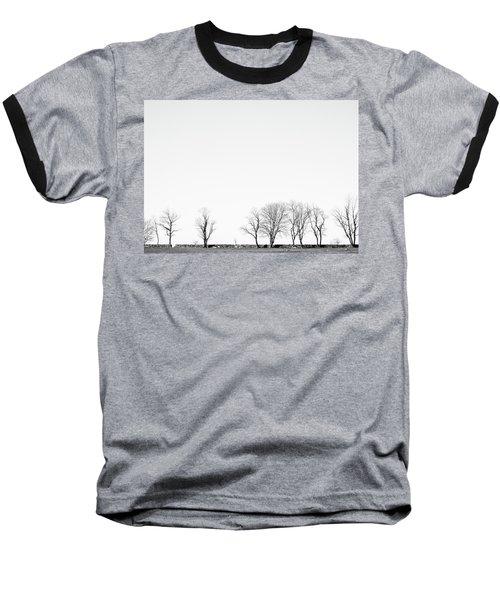 Under A Winter Sky Baseball T-Shirt